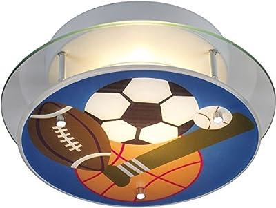 ELK 21005/2, Novelty Round Glass Semi Flush Ceiling Lighting, 2 Light, Satin Nickel