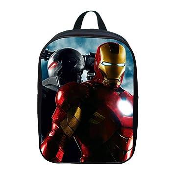 JKAINI Mochila Escolar Impresa 3D para Niños Iron Man, Mochilas Escolares para Niños/Niñas para Niños De 2 A 6 Años,G: Amazon.es: Hogar