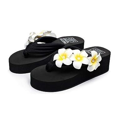 e21b45b93 Amazon.com  Women s flat slippers beach shoes
