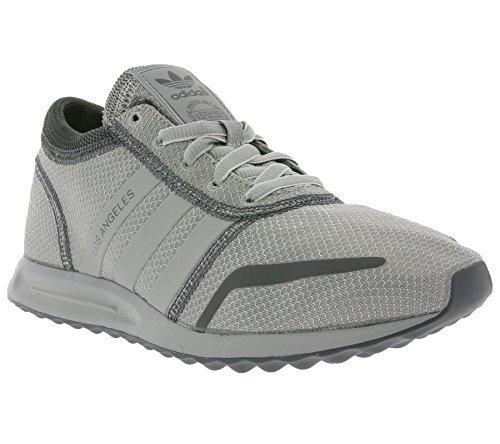 adidas Los Angeles, Unisex Adults' Trainers Grey / Silver (Grey/Silver)