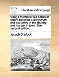 Village Memoirs, Joseph Cradock, 1170649149