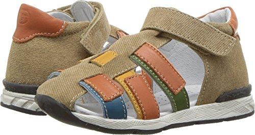 Naturino Baby Boy's Falcotto Dark SS18 (Toddler) Tan Multi 21 M EU - Falcotto Kids Sandals
