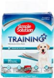Simple Solution Dog Training and Puppy Pads, Large - 50-Count