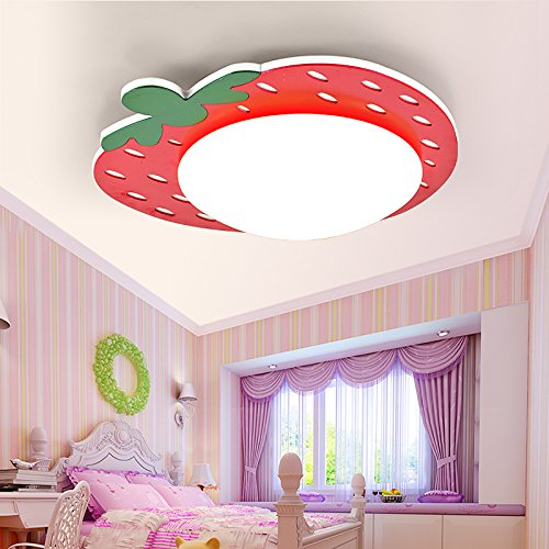 BCC moderno minimalista luz strawberry-bedroom lámpara de ...