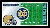 Holland Bar Stool Co. NCAA Notre Dame Fighting Irish Football Field Mirror
