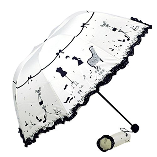 White Parasol For Pram - 2