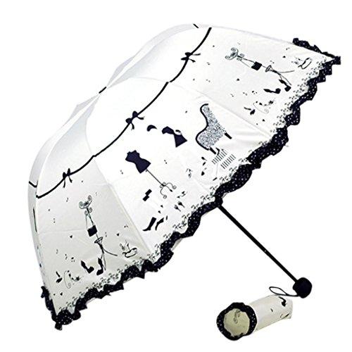 White Parasol For Pram - 3