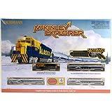 Bachmann Industries McKinley Explorer Ready To Run Electric Train Set Train Car N Scale