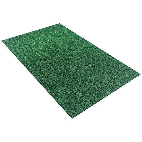 Synturfmats Green Artificial Grass Carpet Rug - Indoor/Outdoor ...
