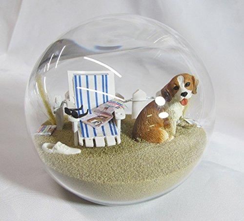 Beachball Sandglobe Puppy Dog Sphere, 4 Inch Diameter, Beagle