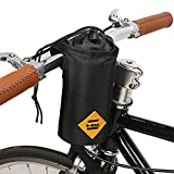 JUNPENG Bike Water Bottle Holder Insulated Stem Bag Frame & Handlebar Attachment Cup Holder Bicycle Water Bottle Drink Holder | Food Snack Storage for huffy,Mountain,Pushchair