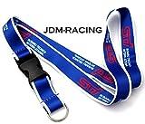 JDM Racing Drift STI Lanyard Neck Cell Phone Key Chain Strap Quick Release BLUE