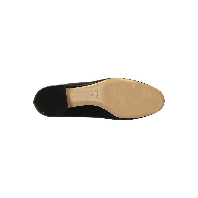 Leonardo Shoes Womens Black Soft Leather Pumps Size Heels Shoes 11 US