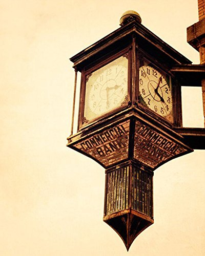 commercial-bank-clock-architecture-photography-andalusia-alabama-fine-art-print-bank-building-landsc
