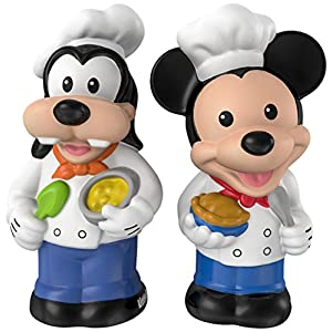 Fisher-Price Little People Magic of Disney Mickey & Goofy Buddy Pack