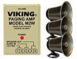 Viking Loud Call Announce/Ringing and Paging Power Amplifier with 2 Powered Speaker
