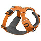 Ruffwear - Front Range No-Pull Dog Harness with Front Clip, Orange Poppy, Large/X-Large