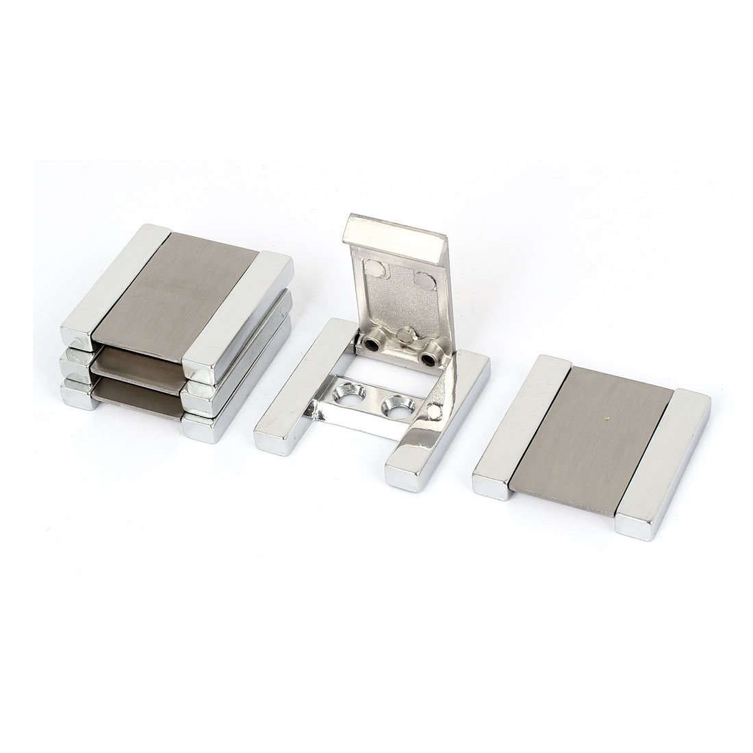 sourcingmap® Cabinet Drawer Door Square Shape Metal Flush Pull Handle 5pcs a16071200ux0342