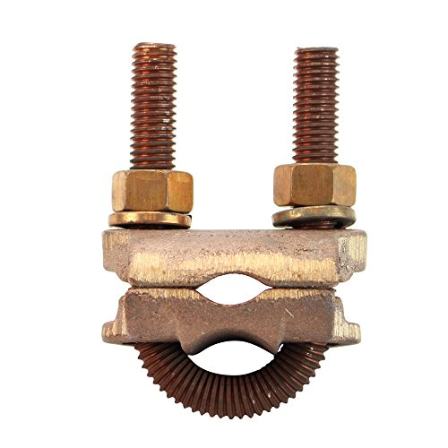 Silicon Bronze Threaded Rod - Penn-Union GPL 7 Bronze Ground Clamp Connector 1/2