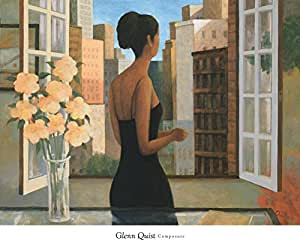 Composure by Glenn Quist Art Print Poster 24x32