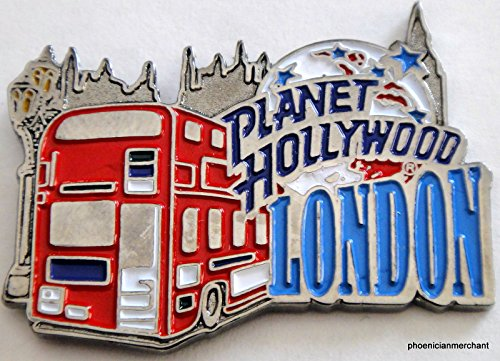 Planet Hollywood London Red Bus City Pin