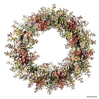 Wandkranz Deko Weihnachtsgirlande Modern Tannenzapfen Φ50cm Wandkranz Weihnachts