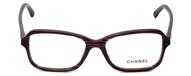 Amazon.com: Chanel Designer Eyeglasses 3317-1517 in Wine 52mm DEMO ...