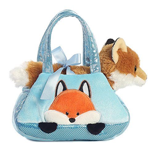 Aurora World Fancy Pals Peek-A-Boo Fox Pet Carrier (Purse Boo)