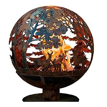third rock fire pit fire pit globe garden. Black Bedroom Furniture Sets. Home Design Ideas