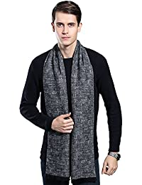 Mens Winter Cashmere Scarf - Ohayomi Fashion Formal Soft Scarves for Men(35  Colors) 0ae35a0671b