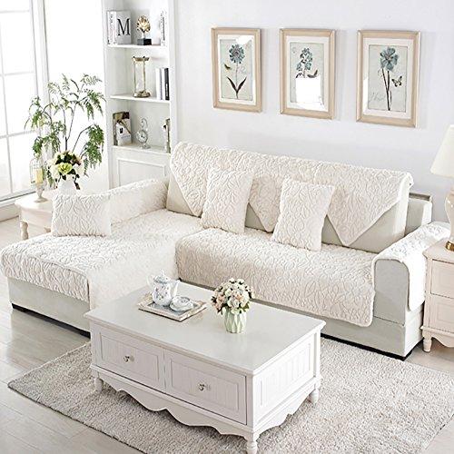Plush Sofa Furniture Protector For Pet Dog All Season Sectional Sofa