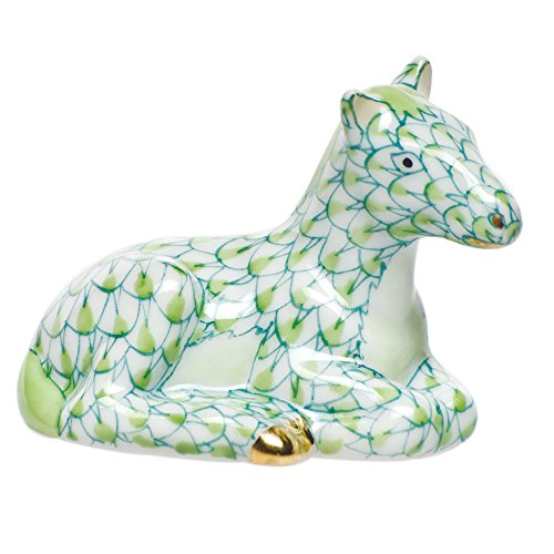 Herend Miniature Horse, Key Lime (Porcelain Horse Figurine)