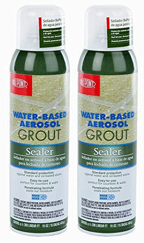 Pack of 2 Dupont Water-Based Wall and Tile Grout Protection Aerosol Sealer...