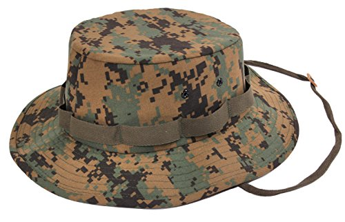 Rothco Jungle Hat, Woodland Camo, X-Large