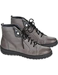 Womens Overland Tucker Wool-Lined Leather Ankle Boots