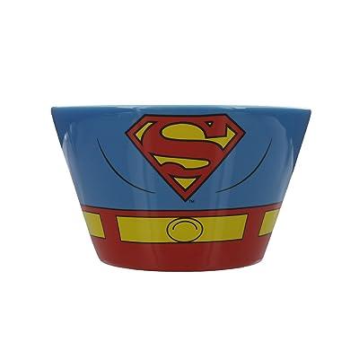 Superman Costume Ceramic Bowl: Toys & Games