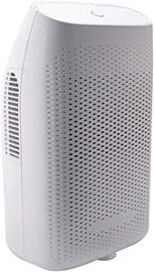 HHSUC Dehumidifier 24 oz Water Tank Mini Electric Dehumidifiers for Bedroom Ultra Quiet and Auto Shut Off for Home Bathroom Basements Kitchen (up to 269 sq ft)