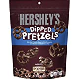 HERSHEYS Pretzels drizzled with HERSHEYS SPECIAL DARK Chocolate - Kids Favorite Snacks - (8.5 Oz / 3 Pack)