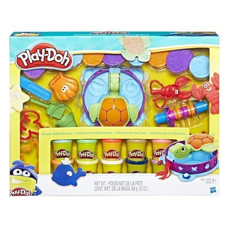Play-Doh Ocean Adventure Mega Set with 10 Pack of Dough & 20 Tools