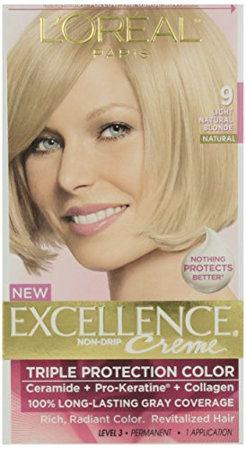 L'Oreal Excellence #9 Nat Blonde Hair Color, 1 ct -  71249210758
