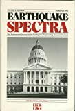 img - for Earthquake Spectra: The Professional Journal of the Earthquake Engineering Research Institute: Volume 8, Number 1, February 1992: Theme Issue: Public Policy book / textbook / text book