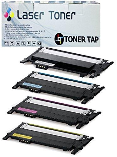 Toner Tap Premium Compatibles for Samsung CLP-360 CLP-365...