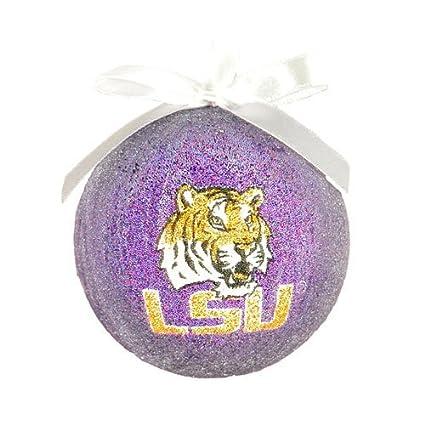 NCAA LSU Tigers Styrofoam Ball Christmas Ornament - Amazon.com: NCAA LSU Tigers Styrofoam Ball Christmas Ornament: Home