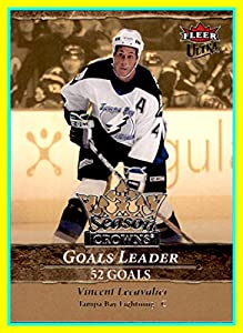 2007-08 Ultra Season Crowns #SC6 Vincent Lecavalier Tampa Bay Lightning