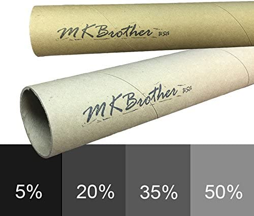 Mkbrother Uncut Roll Window Tint Film 35/% VLT 36 in x 5 Ft Feet Car Home Office Glasss