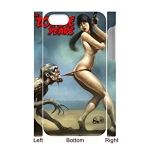 Winfors Zombie Phone 3D Case For Iphone 4/4s [Pattern-1]
