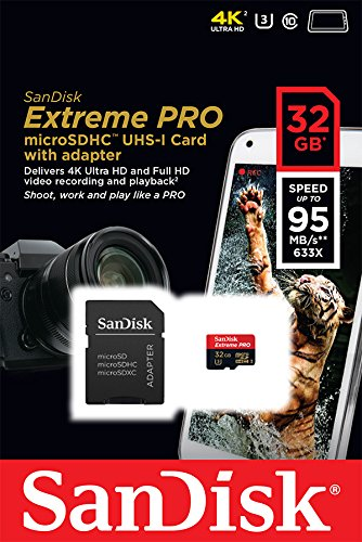 SanDisk Extreme Pro Micro SDHC - Tarjeta de Memoria Micro SD ...
