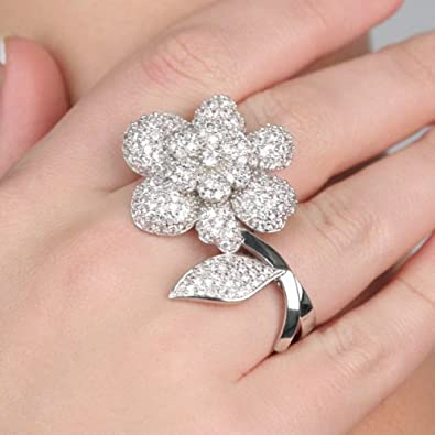 Sex and the city flower ring