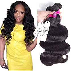 CHEEON Peruvian Virgin Hair Body Wave 12 14 16 Inches 8A Grade Unprocessed Human Hair Bundles Body Wave Virgin Hair 100g/bundle Natural Color