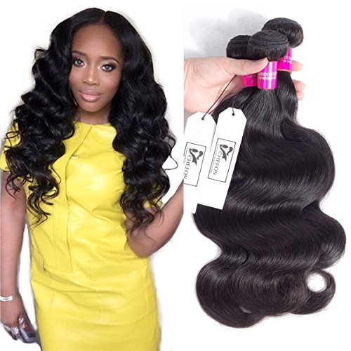 CHEEON Peruvian Virgin Hair Body Wave 12 14 16 Inches 8A Grade Unprocessed Human Hair Bundles Body Wave Virgin Hair 100g/bundle Natural Color